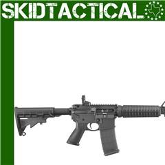 """Ruger AR-556 16.1"""" 5.56 NATO 30rd Adjustable Rear Sight - Black"""
