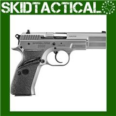 "SAR USA Model 2000 4.5"" 9mm 17rd 3 Dot - Silver"