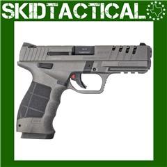 "SAR USA SAR9X Striker Fired 4.4"" 9mm 19rd Adjustable Sights - Silver"