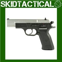 """SAR USA B6 4.5"""" 9mm 17rd 3 Dot - Silver"""