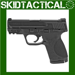 """Smith & Wesson M&P 2.0 Striker Fired 3.6"""" 9mm 15rd Fixed Sights - Black"""