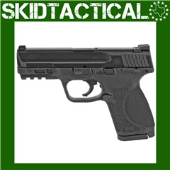"""Smith & Wesson M&P 2.0 Striker Fired 4"""" 9mm 15rd Fixed Sights - Black"""