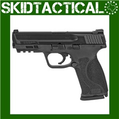 """Smith & Wesson M&P 2.0 Striker Fired 4.25"""" 9mm 10rd Fixed Sights - Black"""