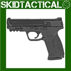 """Smith & Wesson M&P 2.0 Striker Fired 4.25"""" 9mm 17rd Fixed Sights - Black"""