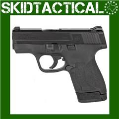 "Smith & Wesson Shield M2.0 Striker Fired 3.125"" 9mm 8rd 3 Dot - Black"