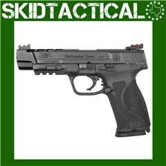 "Smith & Wesson M&P 2.0 Performance Center Striker Fired 5"" 9mm 17rd Fiber O"