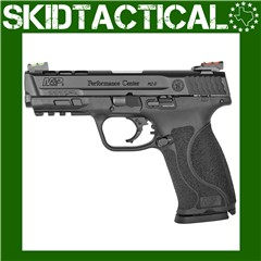 """Smith & Wesson M&P 2.0 Performance Center Striker Fired 4.25"""" 9mm 17rd Fibe"""