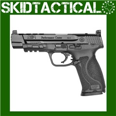 """Smith & Wesson M&P 2.0 Performance Center Striker Fired 5"""" 9mm 17rd Suppres"""