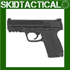 """Smith & Wesson M&P 2.0 Striker Fired 4"""" 9mm 10rd Fixed Sights - Black"""