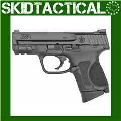 """Smith & Wesson M&P 2.0 Striker Fired 3.6"""" 9mm 12rd 3 Dot - Black"""