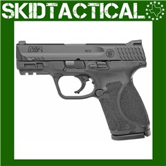 """Smith & Wesson M&P 2.0 Striker Fired 3.6"""" 9mm 10rd 3 Dot - Black"""