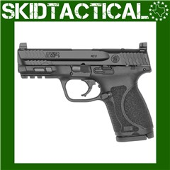 """Smith & Wesson M&P 2.0 Striker Fired 4"""" 9mm 15rd 3 Dot - Black"""