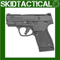 """Smith & Wesson Shield Plus M&P9 Striker Fired 3.1"""" 9mm 13rd White Dot Sight"""