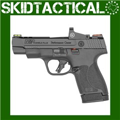 """Smith & Wesson Shield Plus Performance Center Striker Fired 4"""" 9mm 13rd Fib"""