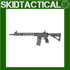 """Smith & Wesson M&P 15T II AR 16"""" 5.56 NATO 30rd Front/Rear Flip Sights - Bl"""