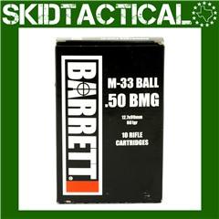 Barrett Ammo 50 BMG 661gr Full Metal Jacket - 10rd