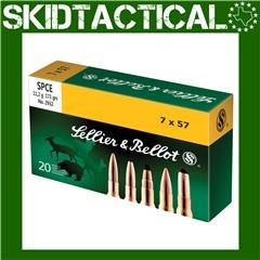 Sellier & Bellot Rifle 7X57 173gr Soft Point Cutting Edge - 20rd