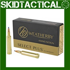 Weatherby Select Plus 257 Weatherby Magnum 100gr Tipped Triple Shock X - 20