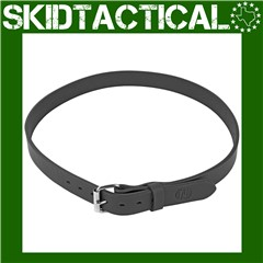 "1791 Gun Belt Leather 44-48"" - Stealth Black"