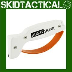 AccuSharp AugerSharp Plastic Knife Sharpener - White