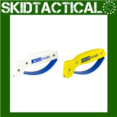 AccuSharp ShearSharp Plastic Knife Sharpener - Yellow