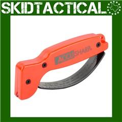 AccuSharp Plastic Knife Sharpener - Orange