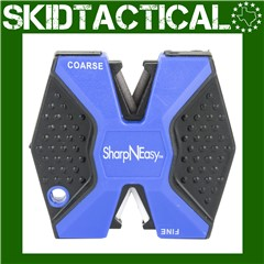 AccuSharp SharpNEasy Plastic Knife Sharpener - Black, Blue