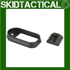 Agency Arms Medium Back Strap Magwell - Black