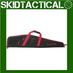 """Allen Ruger Flagstaff 10/22 Endura Rifle Case 40"""" - Black, Red"""