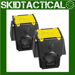 Taser X26, M26/M18 Air Cartridge - 2/Pack - Black, Yellow