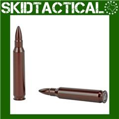 A-Zoom 223 Remington Aluminum Snap Caps - 2Pk - Red