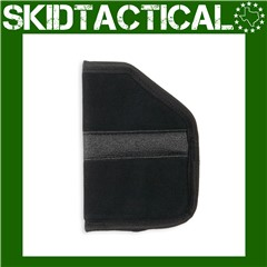 Bulldog Cases Large Right Hand Nylon Pocket Holster - Black