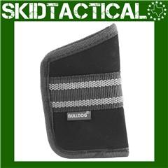 Bulldog Cases Medium Right Hand Nylon Pocket Holster - Black