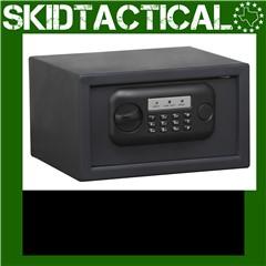 "Bulldog Cases Pistol Vault Safe 12""X8""X7"" - Black"