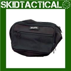 Bulldog Cases Nylon Fanny Pack Medium - Black