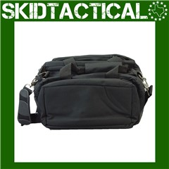 Bulldog Cases Deluxe Nylon Range Bag - Black