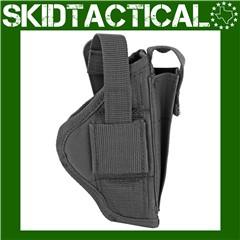 Bulldog Cases Glock 29/30 Extreme Ambidextrous Nylon Belt Holster - Black