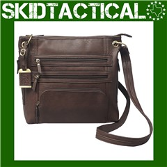 Bulldog Cases Leather Purse - Brown