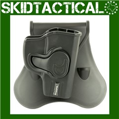 Bulldog Cases Ruger LCP Rapid Release Right Hand Polymer Hip Holster - Blac