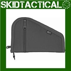 """Bulldog Cases Deluxe Nylon Pistol Case 9""""x6"""" - Black"""
