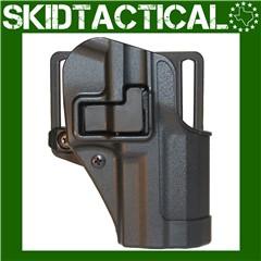 BLACKHAWK Rug P85/89 CQC SERPA Right Hand Polymer Belt Holster - Black