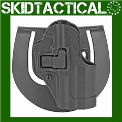 BLACKHAWK HK USP Cmp CQC SERPA Right Hand Polymer Belt Holster - Black