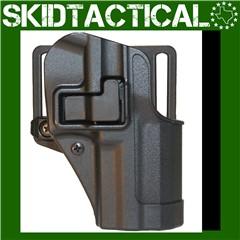 BLACKHAWK Ruger P95 CQC SERPA Right Hand Polymer Belt Holster - Black