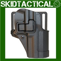 BLACKHAWK Ruger SR9 CQC SERPA Right Hand Polymer Belt Holster - Black