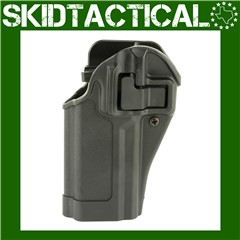 BLACKHAWK Sig P320/P250 CQC SERPA Left Hand Polymer Belt Holster - Black