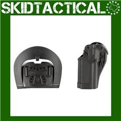 BLACKHAWK Sig P320/P250 CQC SERPA Right Hand Polymer Belt Holster - Black