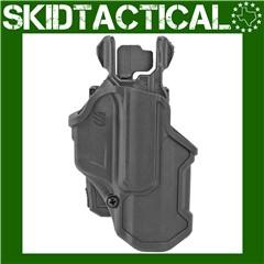 BLACKHAWK Glock 19/23 T-Series L2C Right Hand Polymer - Black
