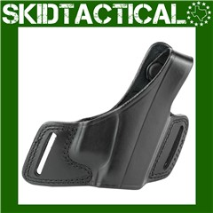 Bianchi Glock 17/19/22/23/26/27/34/35 Right Hand Leather Holster - Black