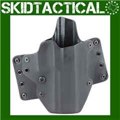 BlackPoint Tactical Sig Sauer P320 Full Size Leather Wing OWB Right Hand Le