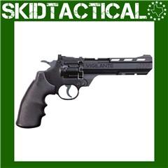 "Crosman Vigilante .177 Cal Pellet 5.9"" CO2 Pistol 435FPS - Black"